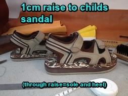 1cm sandal