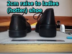 2cm raise