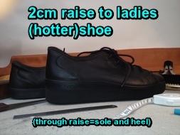 ladies 2cm